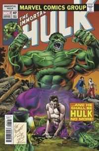 Immortal Hulk #47 Variant Bennett Homage