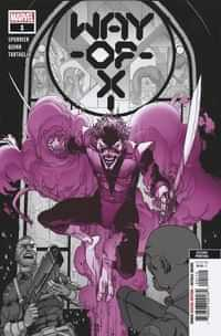 Way Of X #1 Second Printing