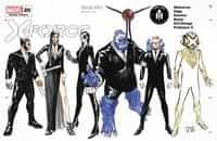 X-force #20 Variant Cassara Character Design