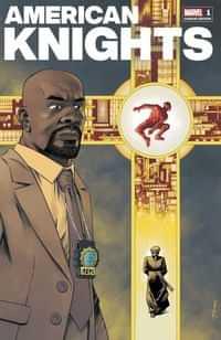 Heroes Reborn American Knights #1 Variant Shalvey