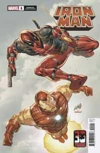 Iron Man Annual #1Variant Liefeld Deadpool 30th Var