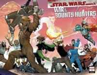 Star Wars War Bounty Hunters #1 Variant Camuncoli Wraparound