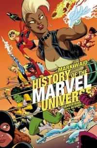 History Marvel Universe TP Rodriguez DM CVR