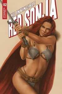 Invincible Red Sonja #2 CVR C Celina