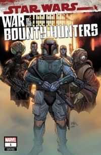 Star Wars War Bounty Hunters #1 Variant 25 Copy Yu
