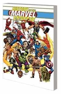 History Marvel Universe TP Buscema DM CVR