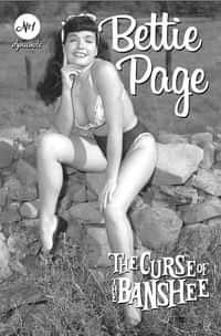 Bettie Page and Curse Of The Banshee #1 CVR E Bettie Page Pin