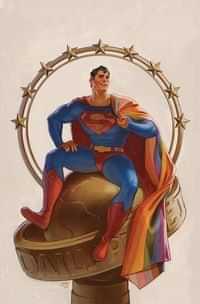Superman #32 CVR C Cardstock David Talaski Pride Month