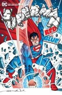 Superman Red and Blue #4 CVR B Walter Simonson