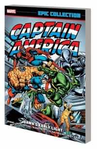 Captain America TP Epic Collection Dawns Early Light New Printing