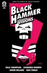 Black Hammer Visions #5 CVR A Romero