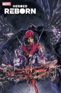 Heroes Reborn Squadron Savage #1 Variant Blatt