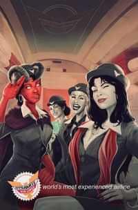 Vampirella Vs Purgatori #4 Variant Maine Virgin FOC Bonus