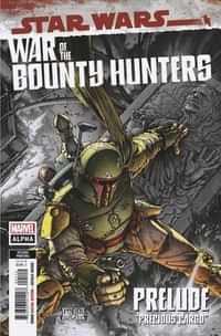 Star Wars War Bounty Hunters Alpha #1 Second Printing Mcniven