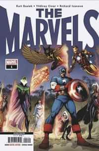 Marvels #1 Second Printing Cinar