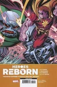 Heroes Reborn #1 Second Printing Mcguinness