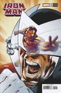 Iron Man #9 Variant Panosian Spider-man Villains