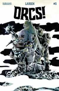 Orcs #5 CVR A Larsen