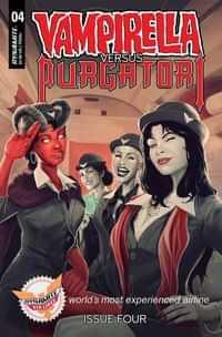 Vampirella Vs Purgatori #4 Variant Premium Maine FOC