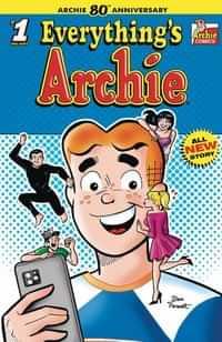Archie 80th Anniv Everything Archie #1 CVR A Dan Parent