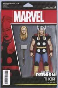 Heroes Reborn #6 Variant Christopher Action Figure
