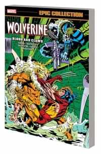 Wolverine TP Epic Collection Blood And Claws