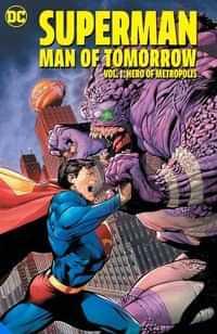 Superman TP Man Of Tomorrow Hero Of Metropolis