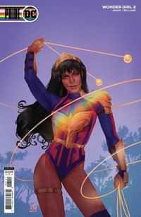 Wonder Girl #2 CVR C Cardstock Kevin Wada Pride Month