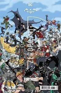 Batman Fortnite Zero Point #6 Variant Cardstock Donald Mustard