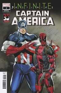 Captain America Annual 2021 Variant Liefeld Deadpool 30th