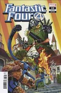 Fantastic Four #33 Variant 25 Copy Pacheco