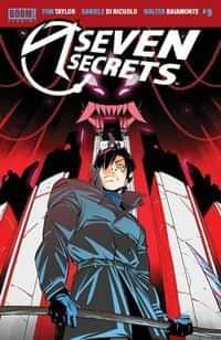 Seven Secrets #9 CVR A Di Nicuolo