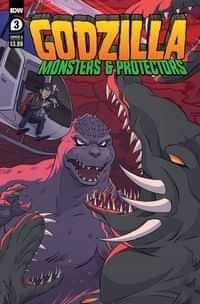Godzilla Monsters and Protectors #3 CVR A Dan Schoening
