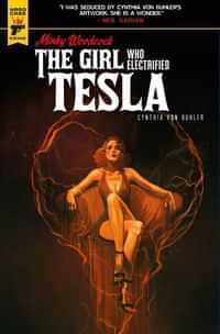 Minky Woodcock Girl Electrified Tesla #3 CVR C Caranfa