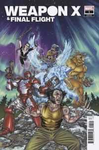 Heroes Reborn Weapon X And Final Flight #1 Variant Yardin