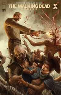Walking Dead #17 Deluxe Edition CVR D Rapozo