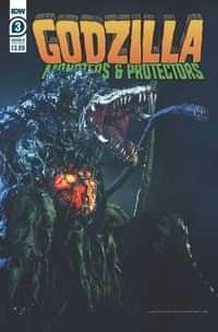 Godzilla Monsters and Protectors #3 CVR B Photo