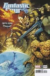 Fantastic Four #33 Variant Ruan Spider-man Villains