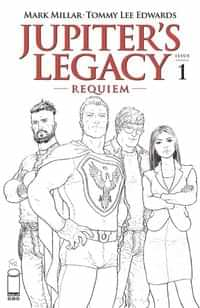 Jupiters Legacy Requiem #1 CVR C Quitely BW