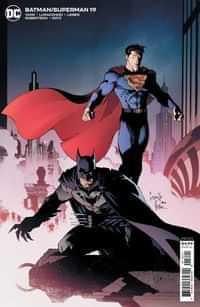 Batman Superman #19 CVR B Cardstock Greg Capullo