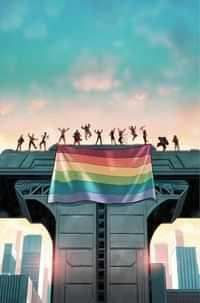 Teen Titans Academy #4 CVR C Cardstock Pride Month
