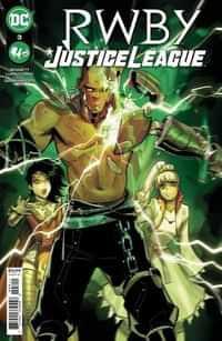 Rwby Justice League #3CVR A Mirka Andolfo