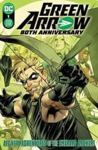 Green Arrow 80th Anniversary 100-page Super Spectacular CVR A Dan Mora