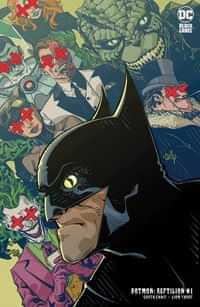 Batman Reptilian #1 CVR B Cully Hamner