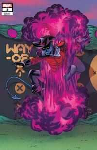 Way Of X #3 Variant Dauterman Connecting