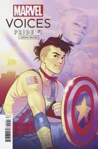 Marvels Voices Pride #1 Variant Ganucheau