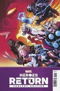 Heroes Return #1 Variant 25 Copy Mcguinness