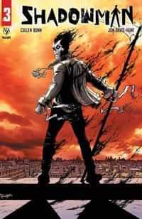 Shadowman #3 CVR A Davis-hunt