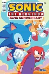 Sonic The Hedgehog 30th Anniversary Special CVR B Neofotistou