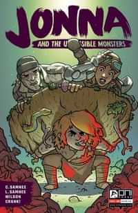 Jonna And The Unpossible Monsters #4 CVR B Cannon